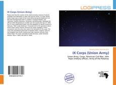 Обложка IX Corps (Union Army)