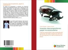 Bookcover of Insectos descompositores: papel no ecossistema