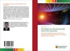 Capa do livro de Estratégia de Decomposição Adomiana Ajustada