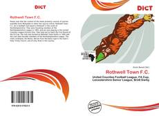 Bookcover of Rothwell Town F.C.