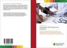 Capa do livro de Avaliação de Programas Públicos