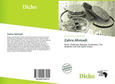 Bookcover of Zahra Ahmadi