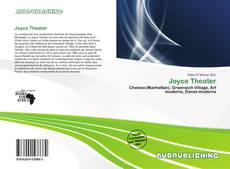 Joyce Theater kitap kapağı