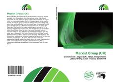 Bookcover of Marxist Group (UK)