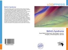 Bookcover of Bálint's Syndrome