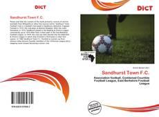 Bookcover of Sandhurst Town F.C.