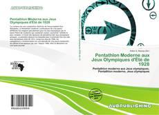 Capa do livro de Pentathlon Moderne aux Jeux Olympiques d'Été de 1928