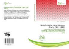 Bookcover of Revolutionary Communist Party (UK, 1978)