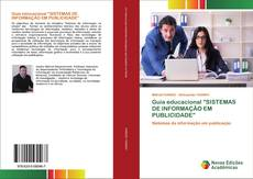 """Copertina di Guia educacional """"SISTEMAS DE INFORMAÇÃO EM PUBLICIDADE"""""""
