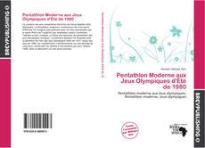 Bookcover of Pentathlon Moderne aux Jeux Olympiques d'Été de 1980