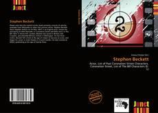 Обложка Stephen Beckett