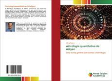 Обложка Astrologia quantitativa de Adiyen