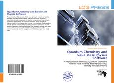 Capa do livro de Quantum Chemistry and Solid-state Physics Software