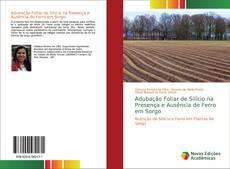 Capa do livro de Adubação Foliar de Silício na Presença e Ausência de Ferro em Sorgo