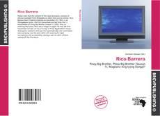 Copertina di Rico Barrera