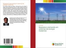Resposta à demanda em sistemas de energia modernos kitap kapağı