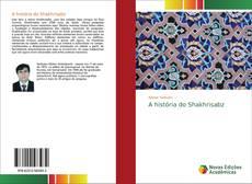 Capa do livro de A história do Shakhrisabz