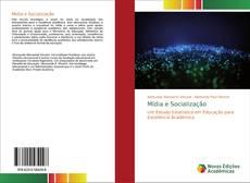 Buchcover von Mídia e Socialização