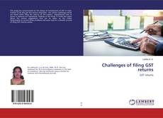 Bookcover of Challenges of filing GST returns