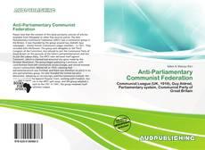 Copertina di Anti-Parliamentary Communist Federation