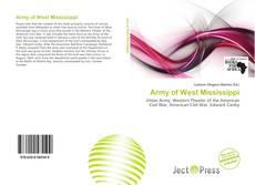 Capa do livro de Army of West Mississippi