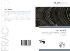 Timo Perthel kitap kapağı