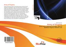Couverture de Army of Virginia