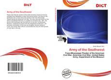 Capa do livro de Army of the Southwest
