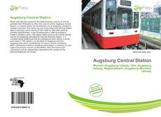 Capa do livro de Augsburg Central Station