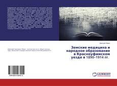 Bookcover of Земские медицина и народное образование в Красноуфимском уезде в 1890–1914 гг.
