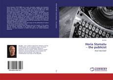 Bookcover of Horia Stamatu – the publicist