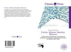 Portada del libro de Carlos Alberto Sánchez Moreno