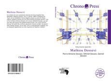 Mathieu Dossevi的封面