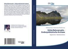 Buchcover von Echte Reïncarnatie - Endosymbiotische Archaea