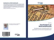 Bookcover of Geschiedenis en Motivatiefilosofie