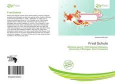 Bookcover of Fred Schule