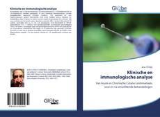 Portada del libro de Klinische en immunologische analyse