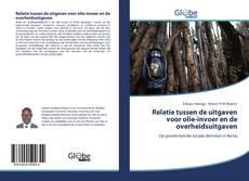 Bookcover of Relatie tussen de uitgaven voor olie-invoer en de overheidsuitgaven