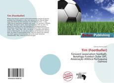 Capa do livro de Tim (Footballer)