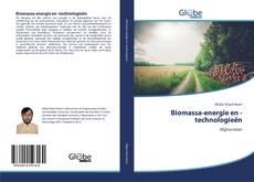Borítókép a  Biomassa-energie en -technologieën - hoz