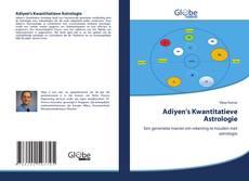 Adiyen's Kwantitatieve Astrologie的封面