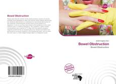 Bookcover of Bowel Obstruction