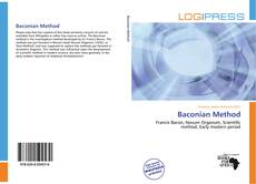 Bookcover of Baconian Method