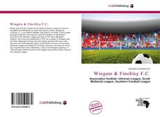 Bookcover of Wingate & Finchley F.C.