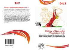 Bookcover of History of Wycombe Wanderers F.C.