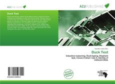 Couverture de Duck Test