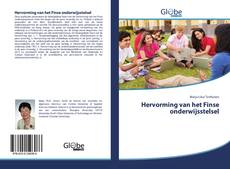Bookcover of Hervorming van het Finse onderwijsstelsel