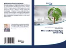 Bookcover of Milieuwetenschappelijke benadering