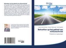 Bookcover of Behoeften op het gebied van milieutechniek