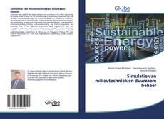 Bookcover of Simulatie van milieutechniek en duurzaam beheer